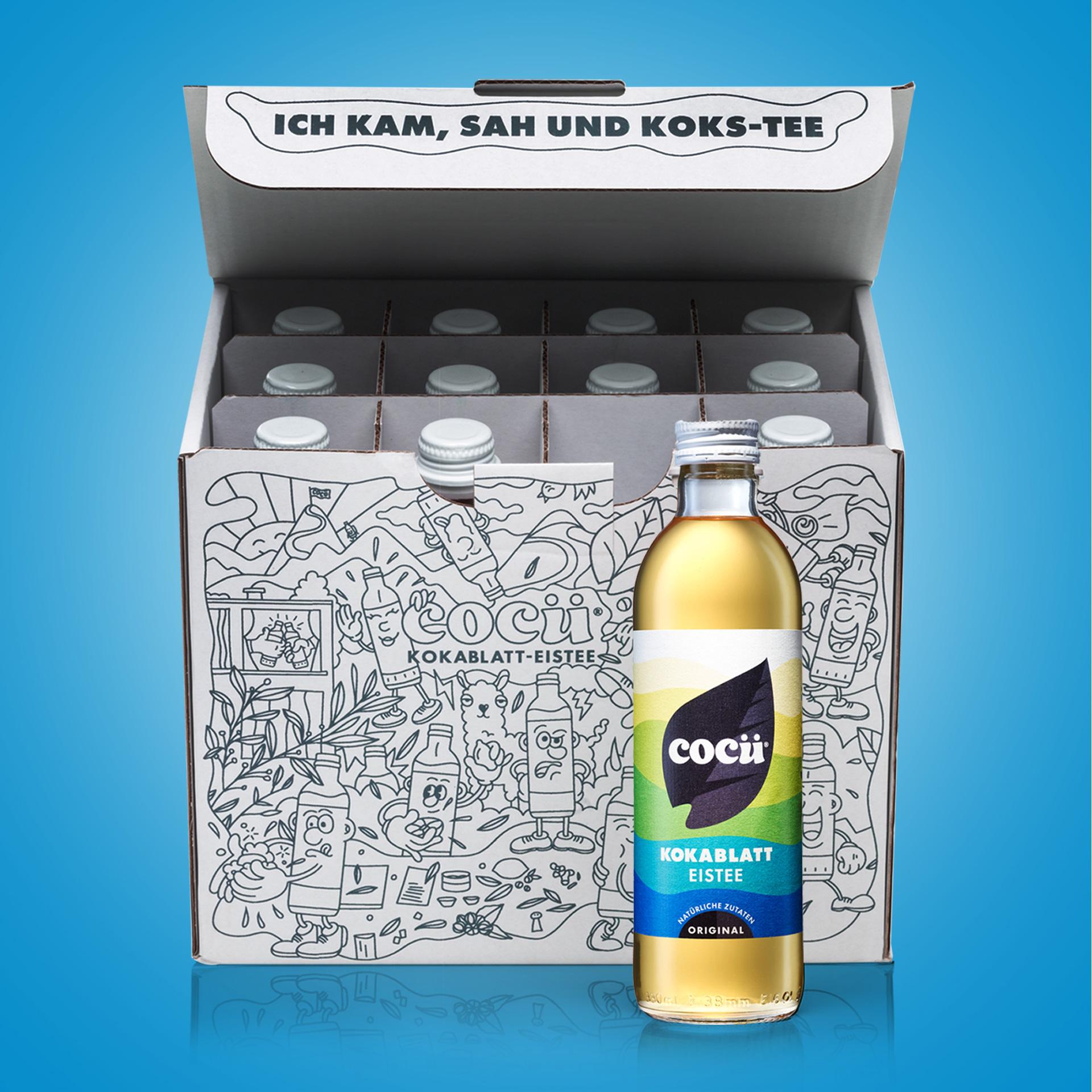 COCÜ Kokablatt-Eistee Box